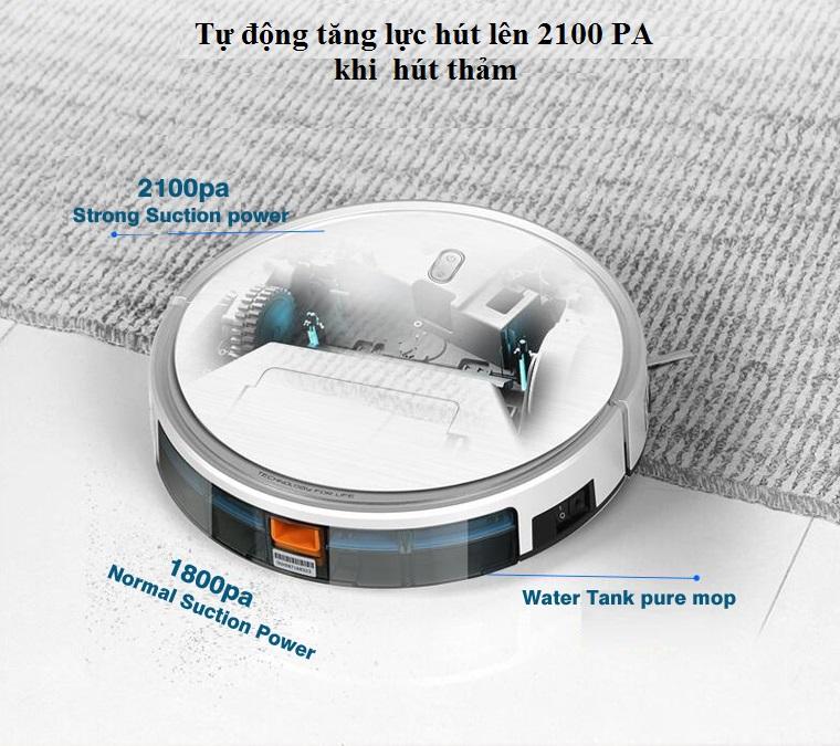 Robot hút bụi Tesvor S6 Turbo